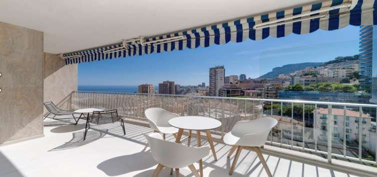 Apartment in Saint Roman, Monaco 1