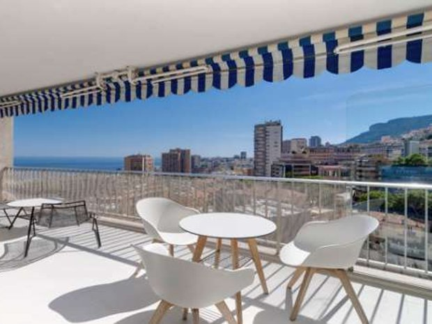 Apartment in Saint Roman, Monaco 1