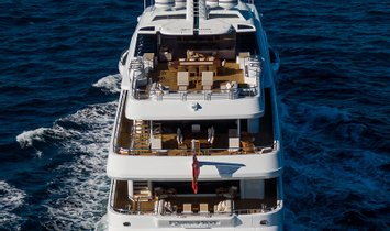 """QUANTUM OF SOLACE 238' 3"""" (72.62m) Turquoise Yachts 2012/2020"""