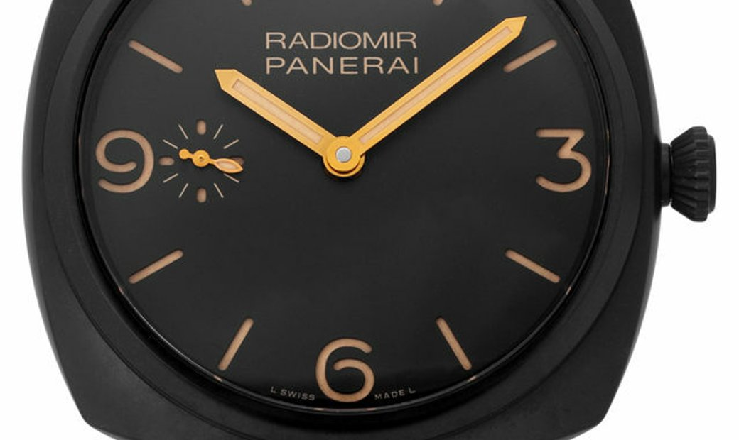 Panerai Radiomir Automatic PAM00504, Arabic Numerals, 2015, Very Good, Case material Ce