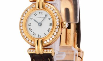 Cartier Colisee 2951, Roman Numerals, 1993, Very Good, Case material Yellow Gold, Brace