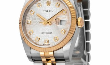 Rolex Datejust 116233, Baton, 2018, Very Good, Case material Steel, Bracelet material: