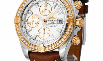 Breitling Chronomat Evolution C1335653.A647, Diamonds, 2008, Very Good, Case material S