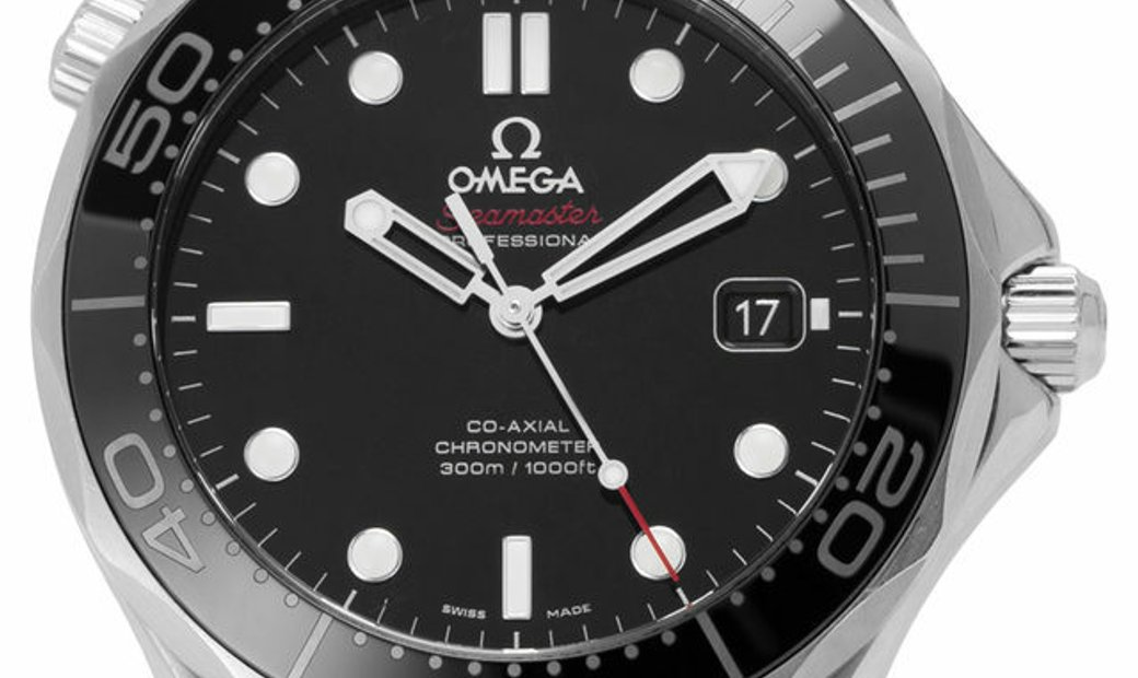 Omega Seamaster Diver 300 M 212.30.41.20.01.003, Baton, 2017, Very Good, Case material