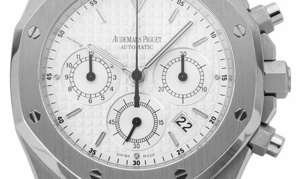 Audemars Piguet Royal Oak Chronograph 26300ST.OO.1110ST.05, Baton, 2009, Unworn, Case m