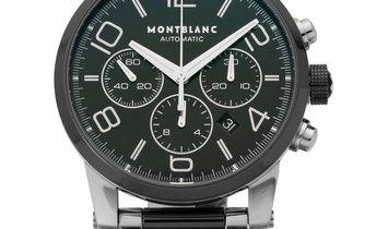 Montblanc TimeWalker 103094, Arabic Numerals, 2016, Very Good, Case material Steel, Bra