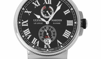 Ulysse Nardin Marine Chronometer 1183-122/42, Roman Numerals, 2017, Unworn, Case materi