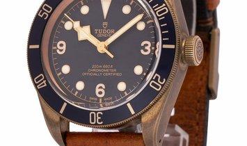 Tudor Heritage Black Bay 79250BB, Baton, 2020, Good, Case material Bronze, Bracelet mat