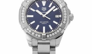 TAG Heuer Aquaracer WAY131N.BA0748, Baton, 2018, Very Good, Case material Steel, Bracel