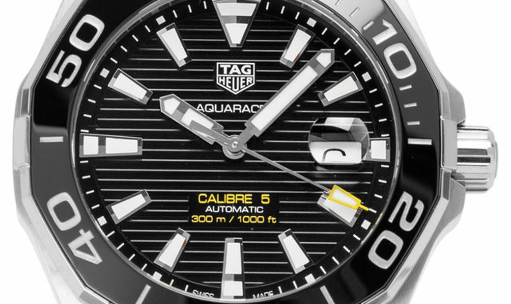 TAG Heuer Aquaracer WAY201A.BA0927, Baton, 2020, Very Good, Case material Steel, Bracel
