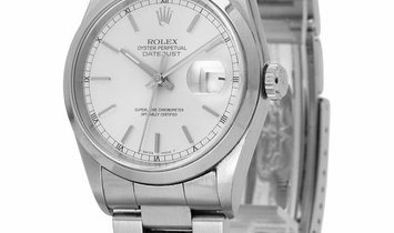 Rolex Datejust 16200, Baton, 1998, Good, Case material Steel, Bracelet material: Steel