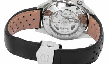 TAG Heuer Carrera CV2010.FC6233, Baton, 2015, Very Good, Case material Steel, Bracelet