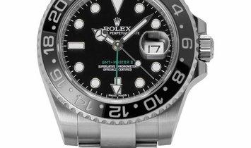 Rolex GMT-Master II 116710LN, Baton, 2017, Very Good, Case material Steel, Bracelet mat