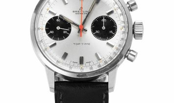Breitling Top Time 2002-33, Baton, 1971, Used, Case material Steel, Bracelet material: