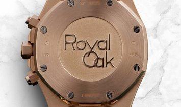 Audemars Piguet Royal Oak 26320OR.OO.D088CR.01 18K Rose Gold Silver Dial