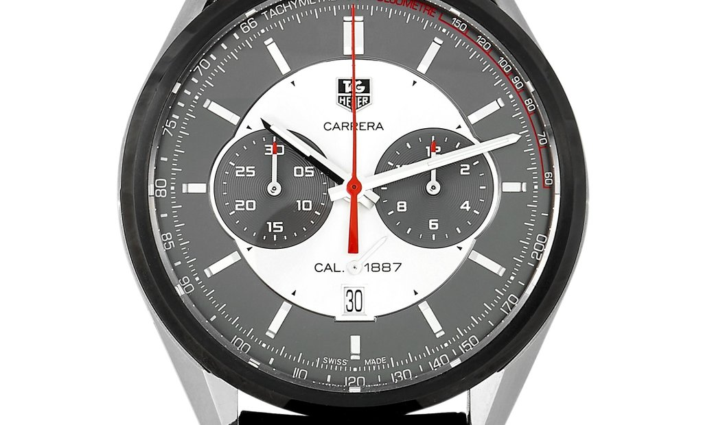 Tag Heuer Tag Heuer Carrera Calibre 1887 Automatic Chronograph Jack Heuer Edition 45 mm Watch CAR2C1