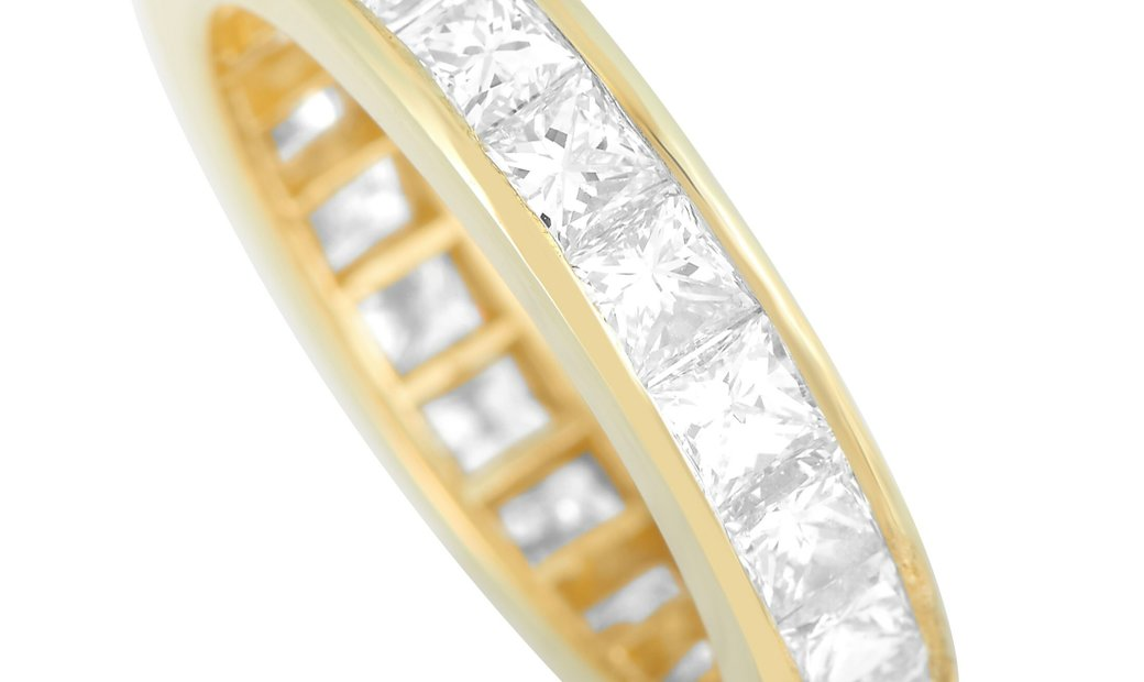 LB Exclusive LB Exclusive 18K Yellow Gold 4.03 ct Diamond Ring