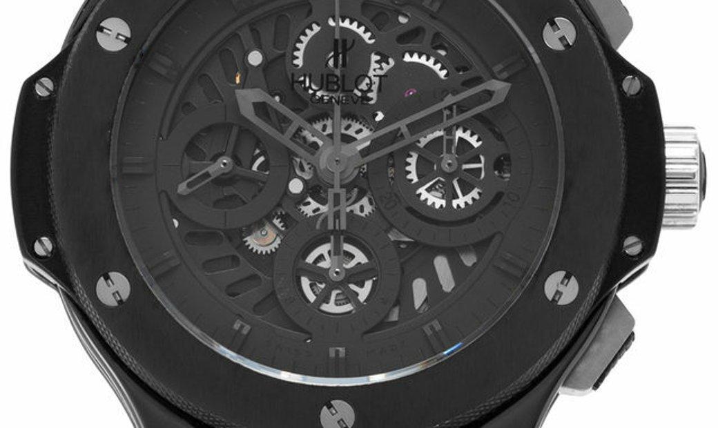 Hublot Big Bang Aero Bang Chronograph 310.CM.1110.RX, Baton, 2009, Good, Case material