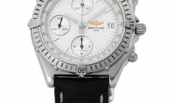 Breitling Chronomat Blackbird A13050, Baton, 1994, Good, Case material Steel, Bracelet