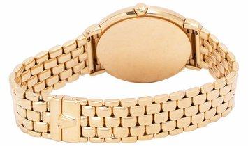 Rolex Cellini 6622, Roman Numerals, 1990, Good, Case material Yellow Gold, Bracelet mat