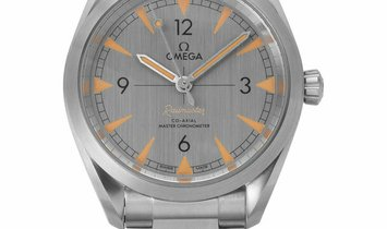 Omega Railmaster Co‑Axial Master Chronometer 40 MM 220.10.40.20.06.001, Baton, 2020, Ve