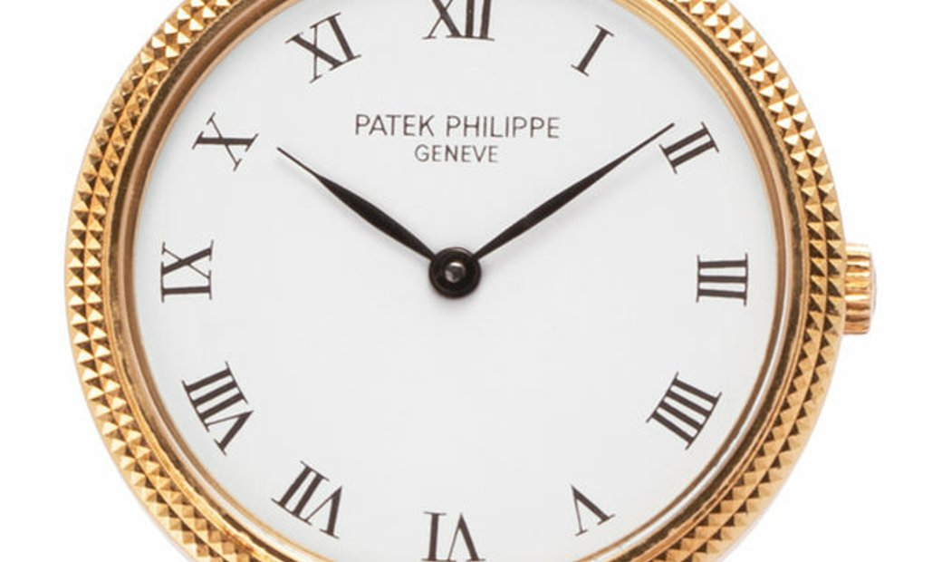 Patek Philippe Calatrava 4819, Roman Numerals, 1980, Very Good, Case material Yellow Go