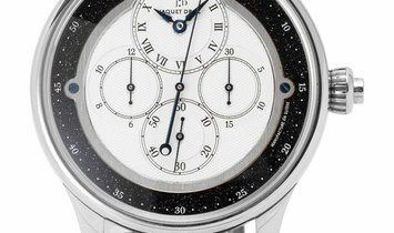 Jaquet Droz Monopoussoir Chronograph J007634201, Roman Numerals, 2008, Very Good, Case