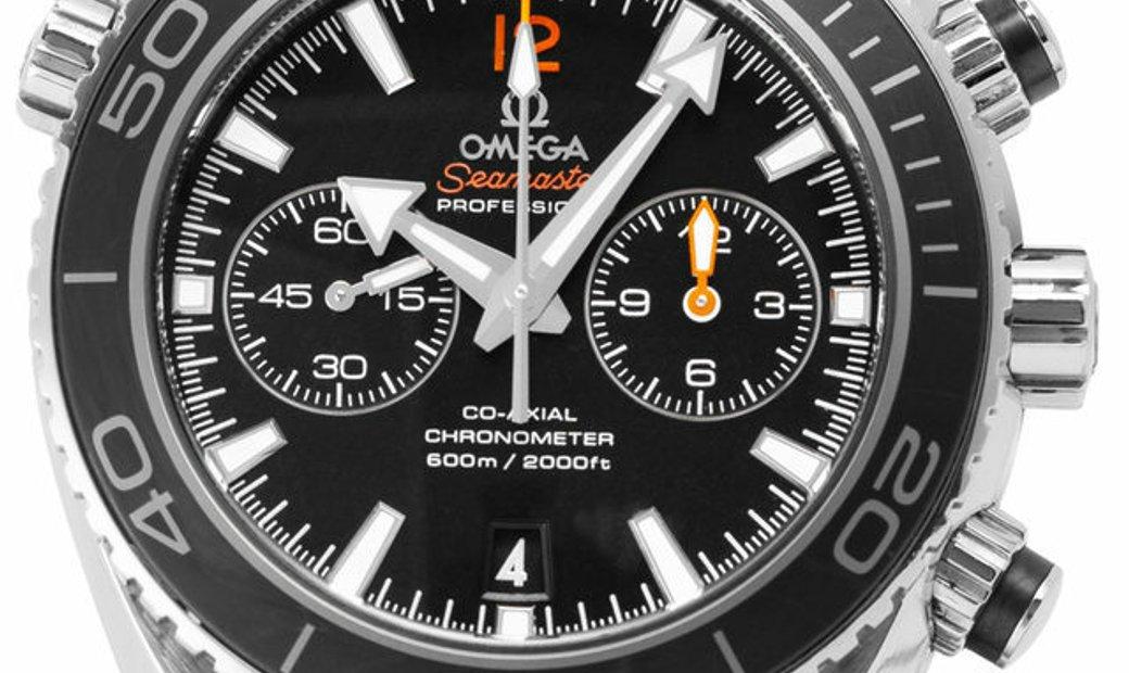 Omega Seamaster Planet Ocean 600 M Chronograph 232.30.46.51.01.003, Baton, 2016, Good,