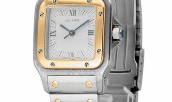 Cartier Santos Galbee W20023C4 187901, Roman Numerals, 1992, Good, Case material Steel,