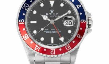 Rolex GMT-Master 16700, Baton, 1996, Very Good, Case material Steel, Bracelet material: