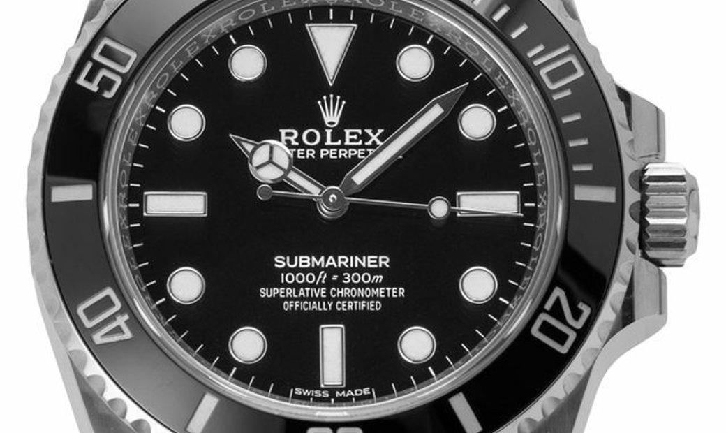 Rolex Submariner 114060, Baton, 2019, Very Good, Case material Steel, Bracelet material