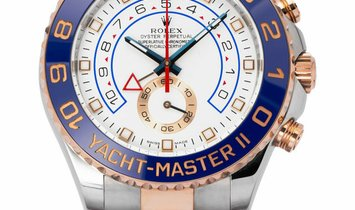 Rolex Yacht-Master II 116681, Baton, 2012, Very Good, Case material Steel, Bracelet mat