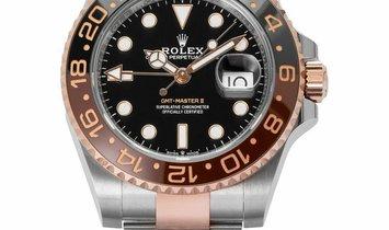 Rolex GMT-Master II 126711CHNR, Baton, 2020, Very Good, Case material Steel, Bracelet m