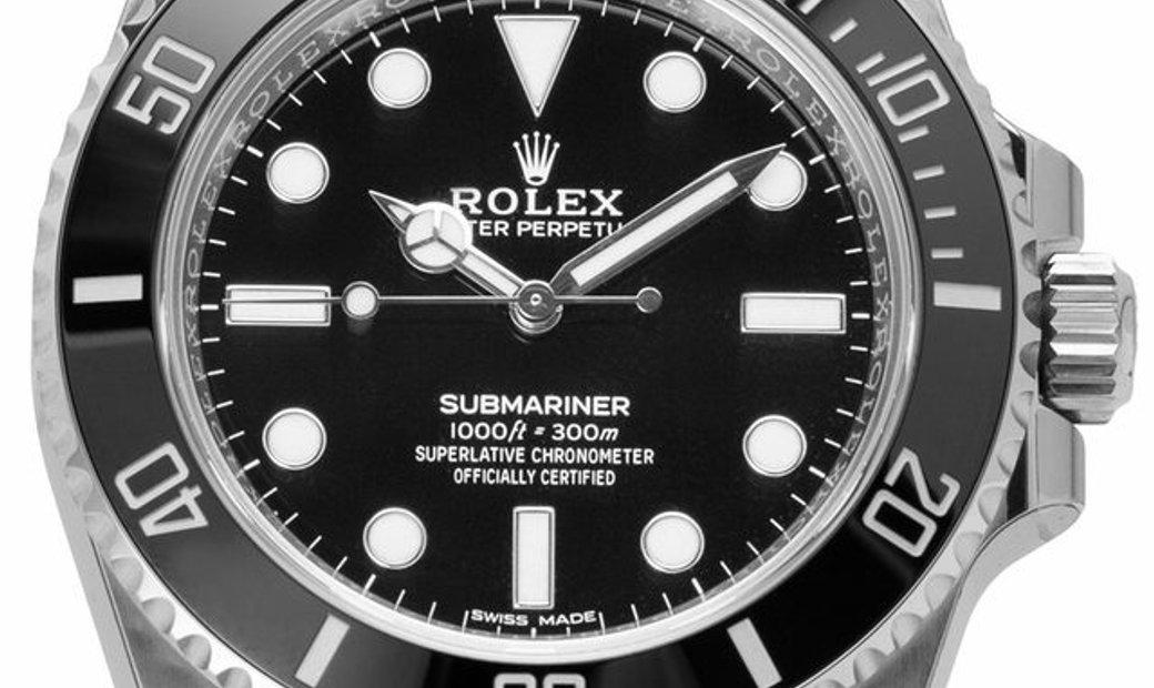 Rolex Submariner 114060, Baton, 2019, Unworn, Case material Steel, Bracelet material: S