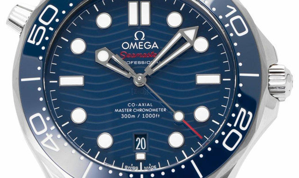 Omega Seamaster Diver 300 M 210.30.42.20.03.001, Baton, 2020, Unworn, Case material Ste