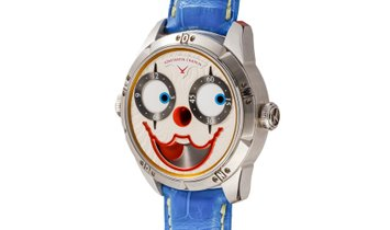 Konstantin Chaykin Clown II Audacity, Brand-new, Case material Steel, Bracelet material Leather