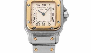 Cartier Santos Galbee W20012C4 1567, Roman Numerals, 1996, Used, Case material Steel, B