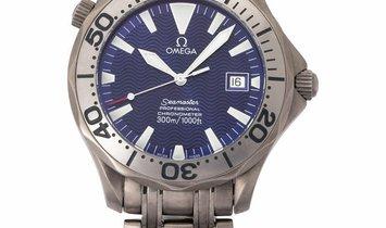 Omega Seamaster 300 M 2231.80.00, Baton, 1999, Good, Case material Titanium, Bracelet m