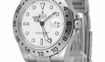 Rolex Explorer II 16570, Baton, 2003, Good, Case material Steel, Bracelet material: Ste