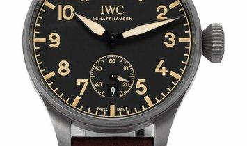 IWC Big Pilots Heritage 48 IW510301, Arabic Numerals, 2017, Good, Case material Titaniu