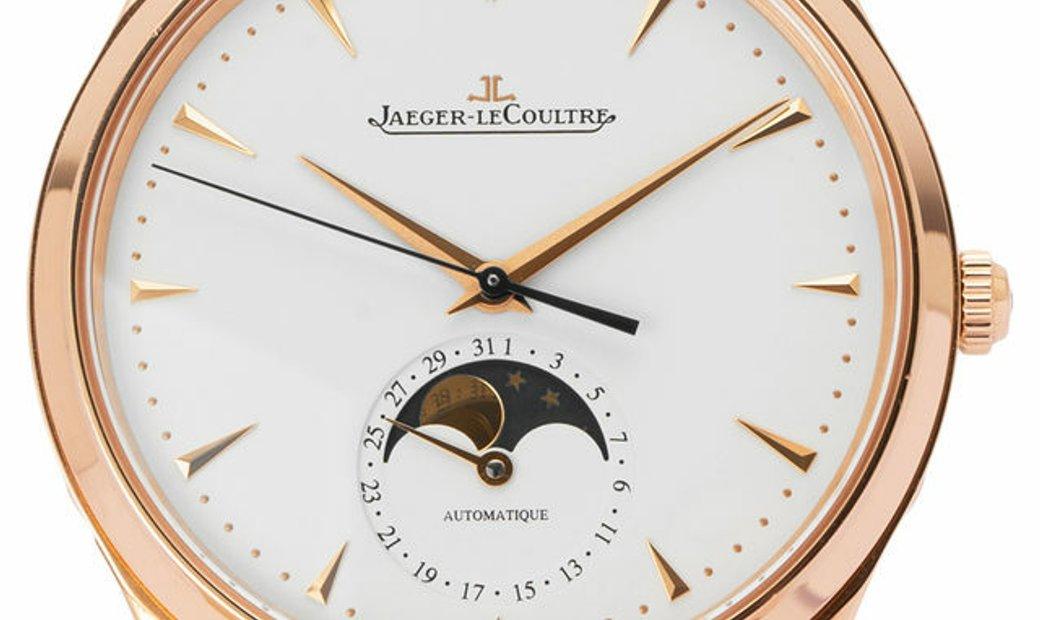 Jaeger-LeCoultre Master Moon 176.2.64.S , Baton, 2018, Very Good, Case material Rose Go