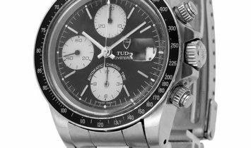 Tudor Oysterdate Chronograph 79160, Baton, 1994, Used, Case material Steel, Bracelet ma
