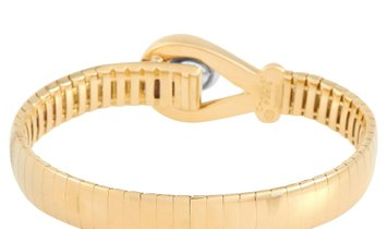 Chaumet Chaumet 18K Yellow and White Gold Hook and Eye Bracelet