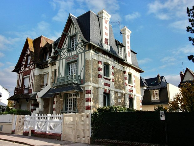 House in Deauville, Normandy, France 1