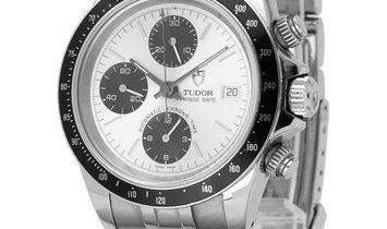 Tudor Prince Date 79260P, Baton, 2007, Good, Case material Steel, Bracelet material: St