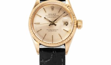Rolex Lady-Datejust 6517, Baton, 1966, Good, Case material Yellow Gold, Bracelet materi