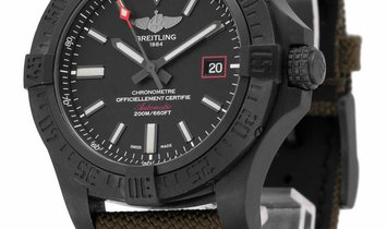 Breitling Avenger Blackbird 44 V1731110.BD74.109W.M20BASA.1, Baton, 2016, Good, Case ma