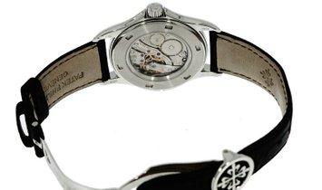 PATEK PHILIPPE COMPLICATIONS TRAVEL TIME PLATINUM MEN'S WATCH Ref. 5134P-001