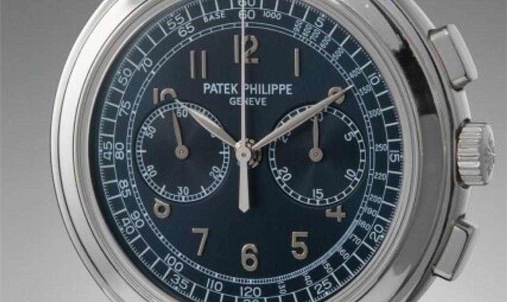 PATEK PHILIPPE COMPLICATIONS CHRONOGRAPH PLATINUM MEN'S WATCH Ref. 5070P-001