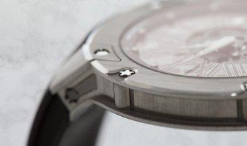 Richard Mille RM 033 Extra Flat Round Titanium Roman Numerals